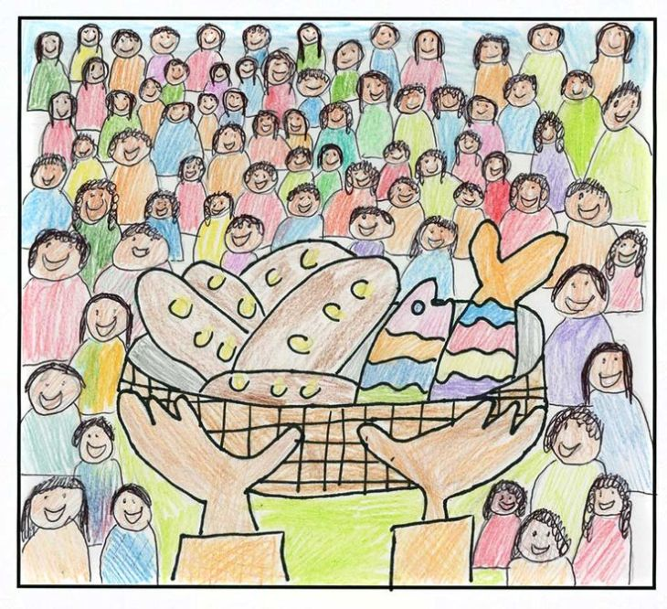 clipart-of-jesus-feeding-the-hungry-images-7