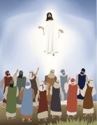 Jesus Ascends